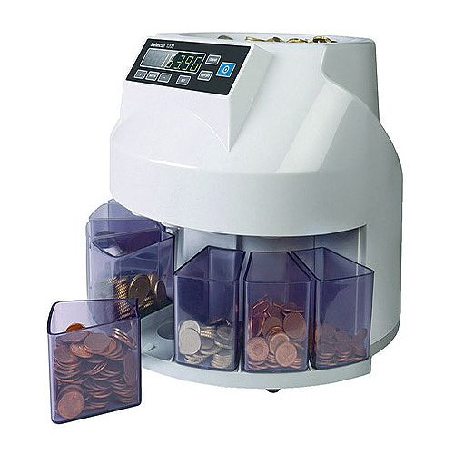 Safescan Mixed Coin Counter/Sorter Euro (Pack of 1) 113-0260