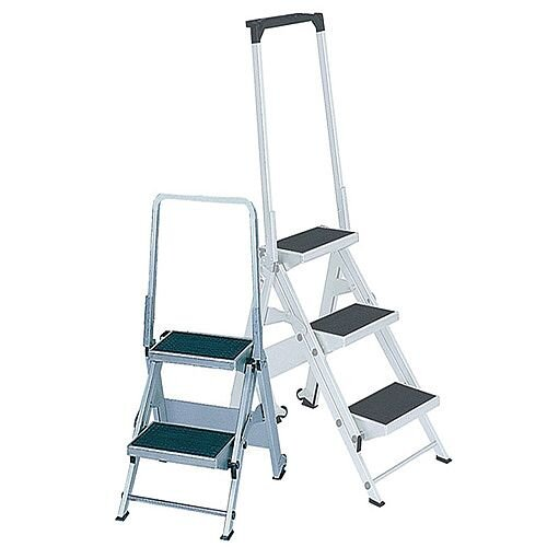 Safety Step Aluminium 2 Tread Platofrm Height 450mm Capacity 175Kg