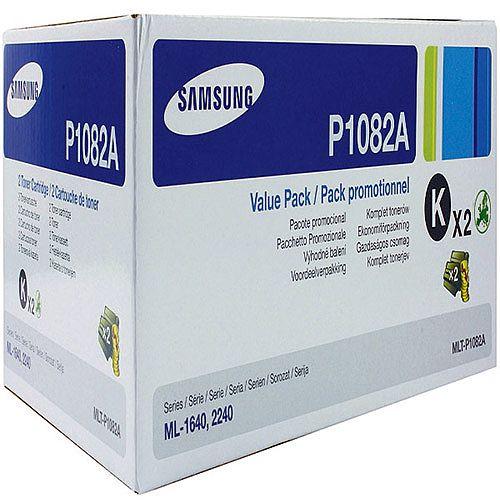 Samsung P1082A Black Toner Twin Pack MLT-P1082A/ELS