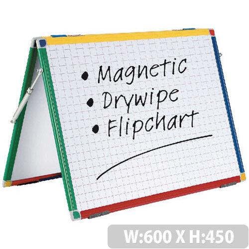 Show-Me A2 Magnetic Desktop Easel
