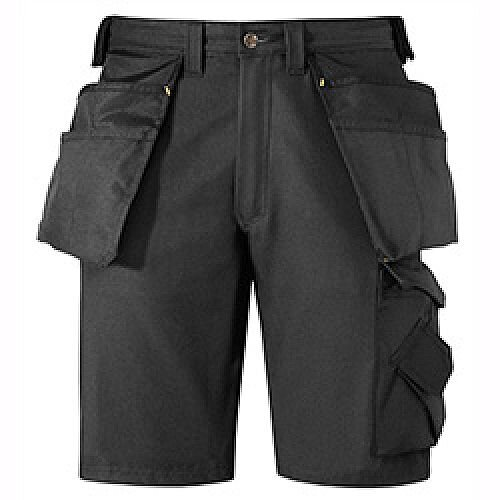 "Canvas+ Shorts Black Waist 30"" Inside leg 32"""