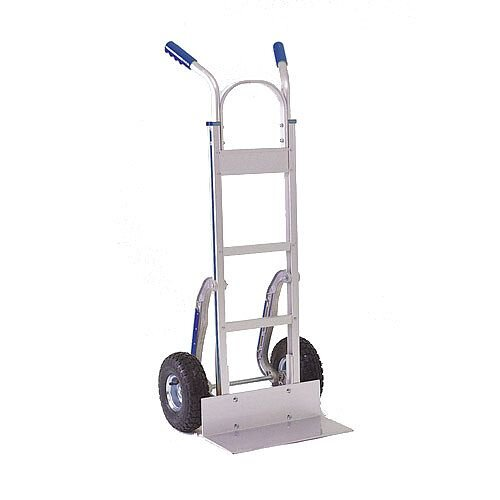 Stairclimbing Hand Truck Low-Friction Skids Pneumatic Tyres 200kg Capacity 317672