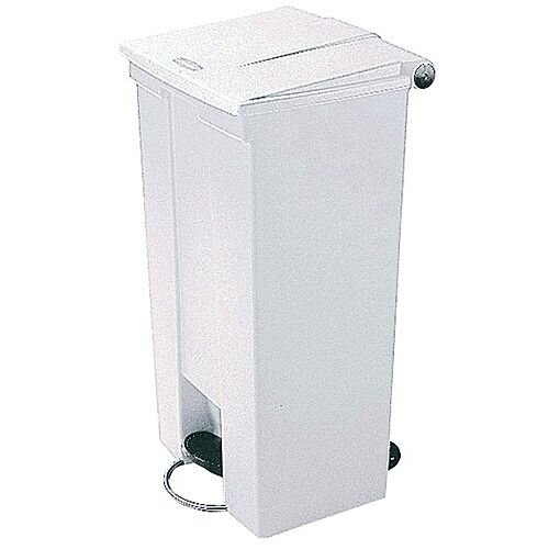 Step-On Bin 30.5 Litre 415x400x435mm White 324300