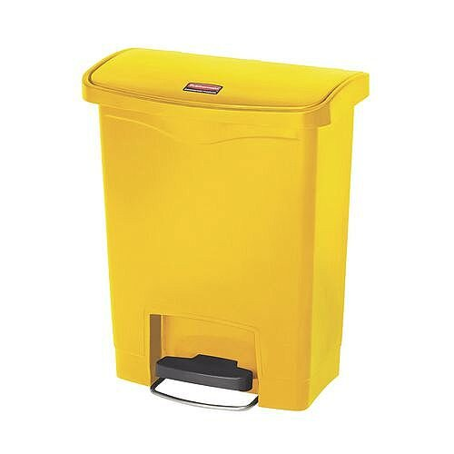 Step-On Bin 30.5 Litre 415x400x435mm Yellow 324301