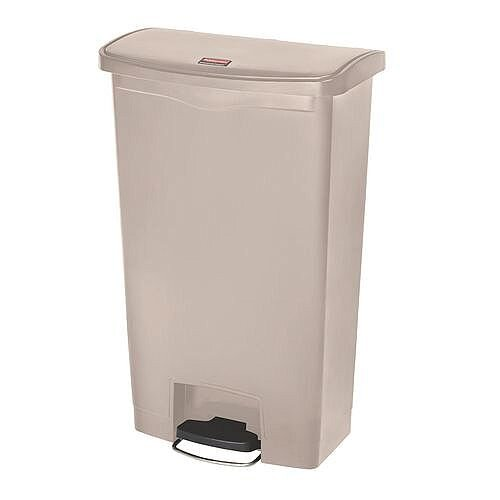 Step-On Bin 45.5 Litre 415x400x600mm Beige 324302