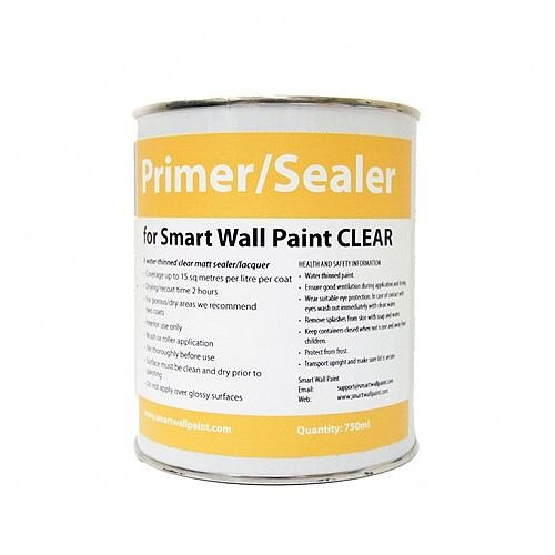 Smart Wall Whiteboard Paint Clear Primer