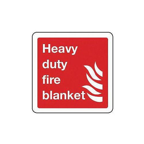 Rigid PVC Plastic Heavy Duty Blanket Sign