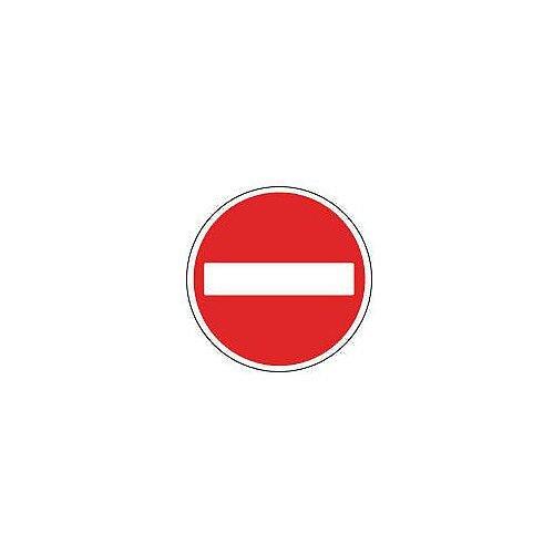 Regulatory Traffic Sign No Entry Dia 600mm Class 2