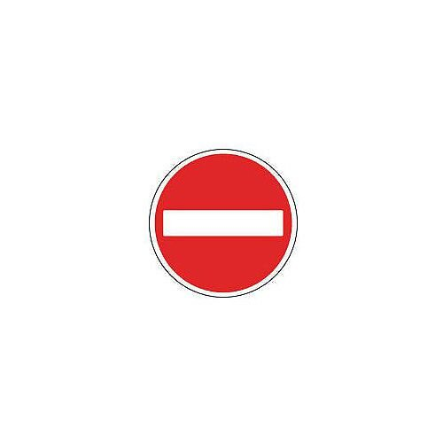 Regulatory Traffic Sign No Entry Dia 600mm Class 1