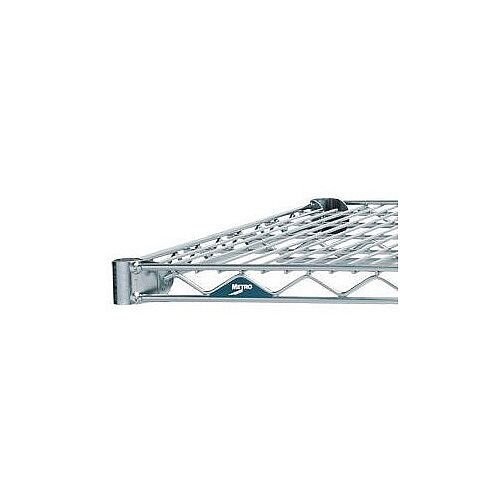 356mm Deep 1829mm Wide Extra Shelf for Olympic Chrome Wire Shelving System