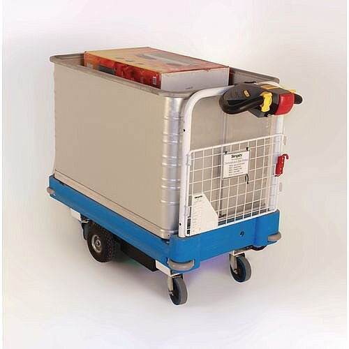 Power Go-Far Trolley With Load Level Container