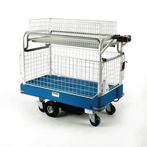 Power Go-Far Trolley With Long Basket