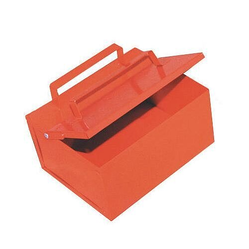 Steel Ash Collection Bin 4.5L with Closing Lid