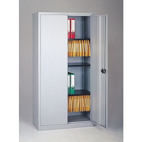 Cupboard Stationery Medium HxWxD 1806X914X400 Goose Grey