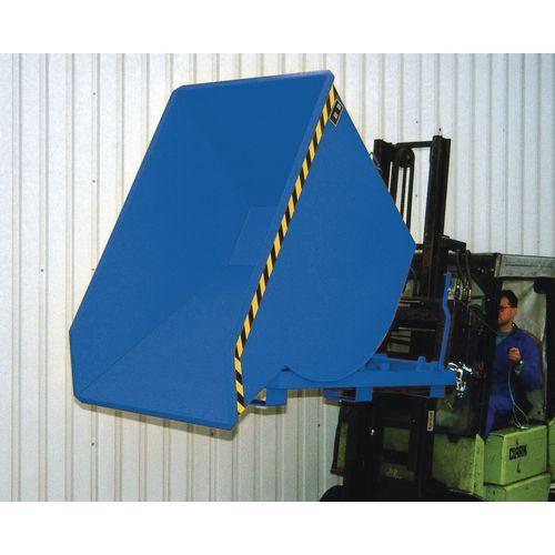 Heavy Duty Roll Forward Skip Blue Capacity 3000kg SY311396
