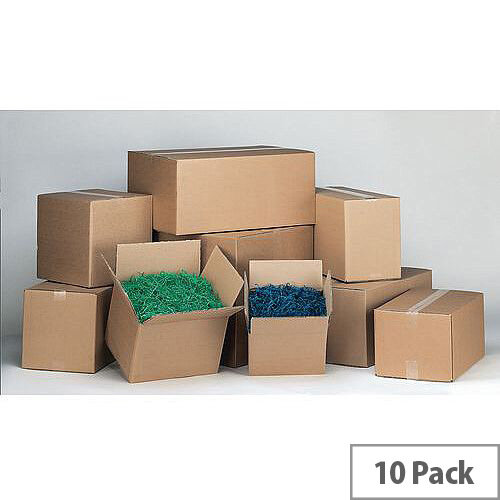 Double Wall Carton 343x343x343 Pack of 10
