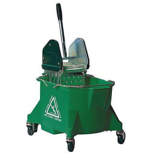Colour Coded Mop Wringer Heavy Duty Green