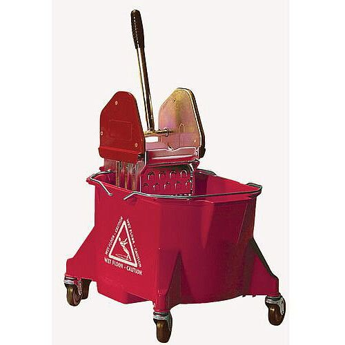 Colour Coded Mop Wringer Heavy Duty Red