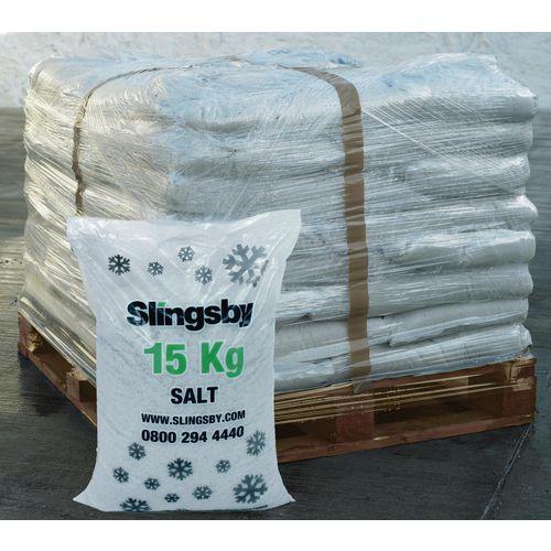 White De-Icing Salt 72x15Kg Bags