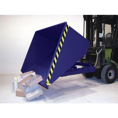 Universal Roll Forward Skip 750kg Blue SY315530