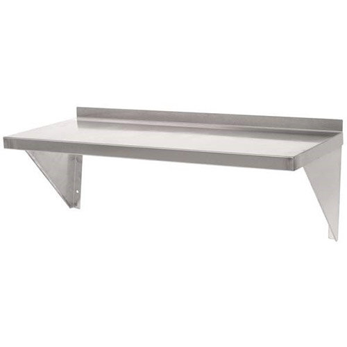 Stainless Steel Wall Shelf L 600mm