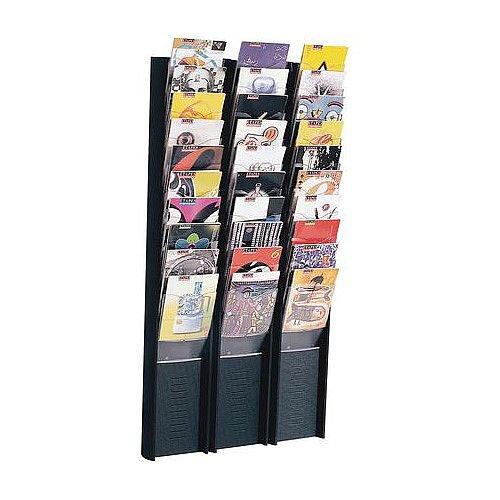 Wall Mounted Literature Display 10 Pocket