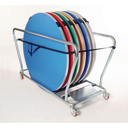 Table Transportation Trolley Circular Tables