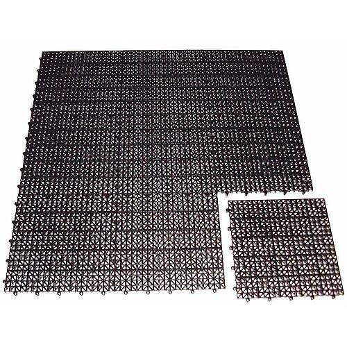 Duckboard Floor Tiles Black
