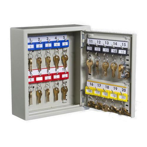 Key Cabinet With Key Lock For 20 Keys
