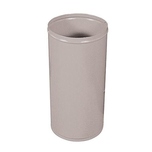 General Purpose Litter Bin Grey H x Dia 720 x 360mm
