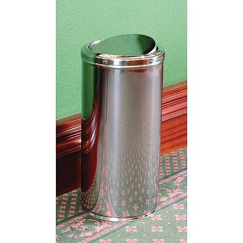 Fire Retardant Litter Bin Grey 51L