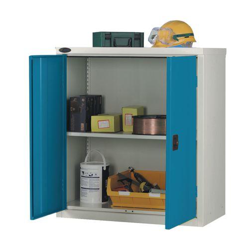Low Strong Industrial Cupboard Door Colour Blue H1015xW915xD460mm