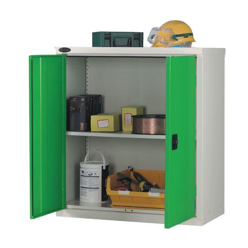 Low Strong Industrial Cupboard Door Colour Green H1015xW915xD460mm