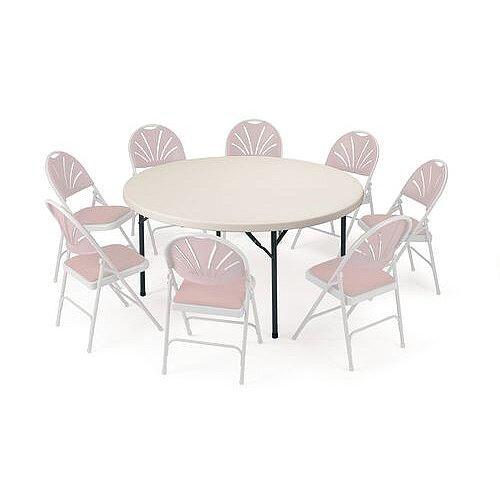 Polyfold Lightweight Folding Table Circular 1220mm Dia