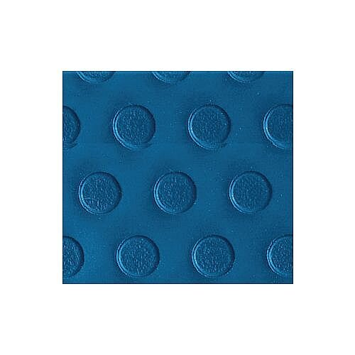 Fleximat Flexible Pvc Flexi Dot Industrial Matting Sold Per Roll W980Mm Blue