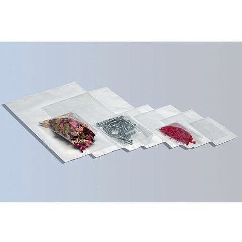 Gripseal Polythene Bags Plain WxL 102x140mm Pack of 1000