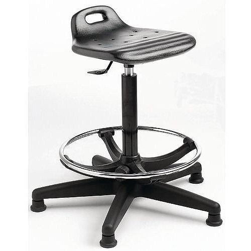 Posture STool With Adjustable Footring,Seat Height 580-800mm