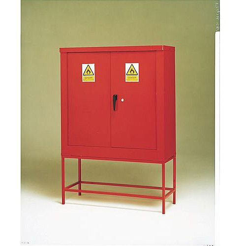 Petroleum And Flammable Liquid Storage Cabinets Cabinet With Stand HxWxD mm: 1200 x 900 x 610