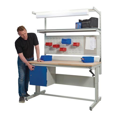 Adjustable Height WorkBench D600 x L1800mm