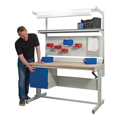Adjustable Height WorkBench D750 x L1800mm