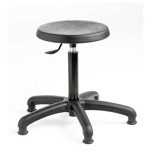 Industrial Stool With Glides