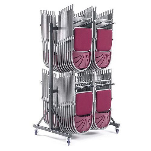 Mobile Storage Trolley Twin Tier