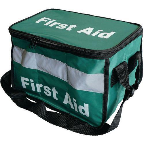 Haversack First Aid Kit Empty Haversack Water-Resistant Shoulder Bag Green