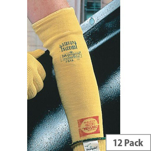 Kevlar Arm Protection Sleeves Size 14 Inch Pack of 12