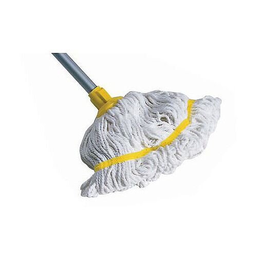 Hygiene Socket Mop With Aluminium Handle Yellow