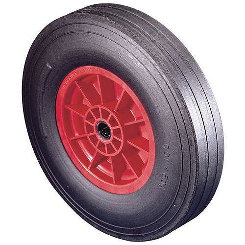Polypropylene Centre With Rubber Tyre Load Capacity 250kg Plain Wheel Diameter 330mm