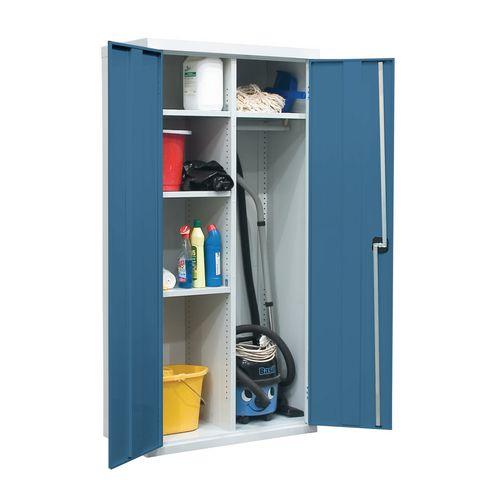 Utility Cupboard 1800x1200x460mm Light Blue
