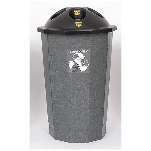 Recycling Bin Bank System Cup Bank Granite 75L