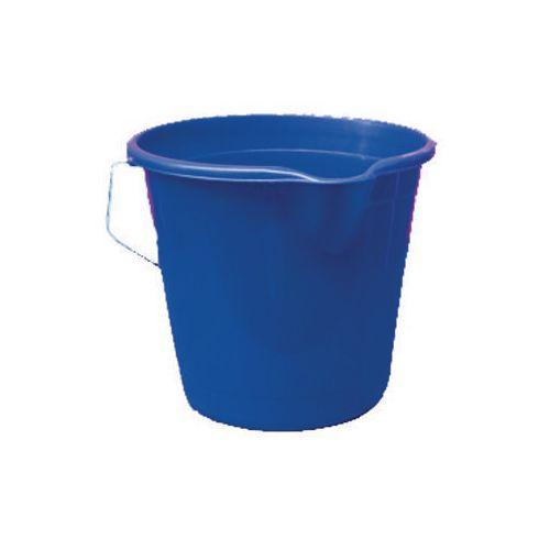 Plastic Bucket Blue Pack of 4