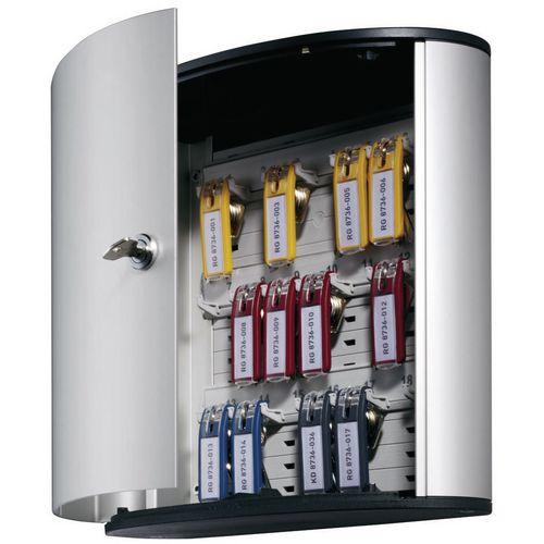 Aluminium Standard Lock Cabinet 72 Key Capacity